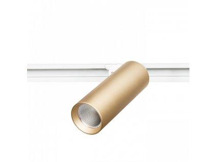 MAVRO pro tříokr. lištu zlatá 230V LED 12W 38° 3000K - RED - DESIGN RENDL