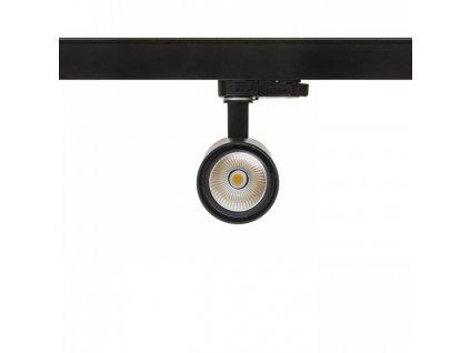 PRODIGI S pro tříokr. lištu černá 230V LED 10W 36° 3000 - RED - DESIGN RENDL