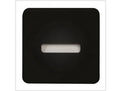 LED nástěnné svítislo LAMI NT 230V AC, IP20, ČERNÁ, STUDENÁ BÍLÁ