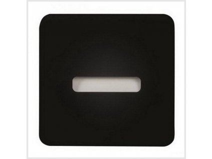 LED nástěnné svítidlo LAMI NT 230V AC, IP20, ČERNÁ, TEPLÁ BÍLÁ