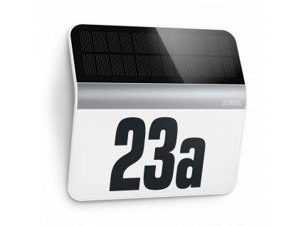Solární domovní číslo XSolar LH-N ocel Steinel 7140