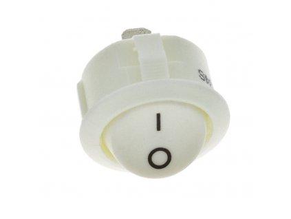 Vypínač do desky R13 kolébkový, bílý