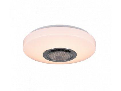 LED stropní svítidlo Maia 1x SMD LED, 10W 1x 1100lm, 3000K RGB s Bluetooth reproduktorem
