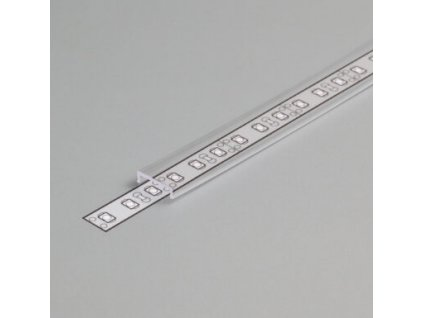 Difuzor C KLIP ČIRÁ 1m (s krycím páskem a vroubkem)