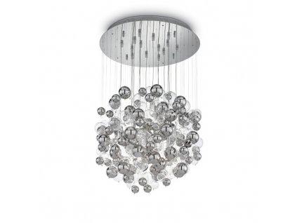 Stropní přisazené svítidlo Ideal Lux Bollicine SP14 chrom 093024