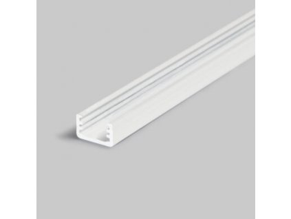Hliníkový profil nástěnný 25 SLIM8 A/Z bílá lak 1m Topmet