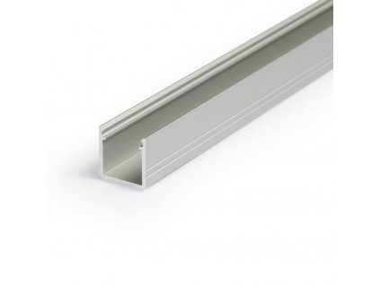 Hliníkový profil nástěnný SMART10 A/Z anoda 1m Topmet