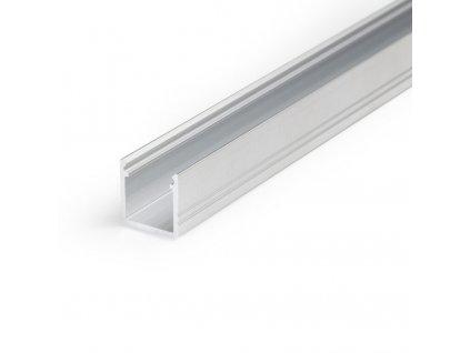 Hliníkový profil nástěnný SMART10 A/Z hliník surový 1m Topmet