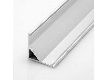 Hliníkový profil rohový UNI CORNER 16x16x2 1m hliník anoda Topmet