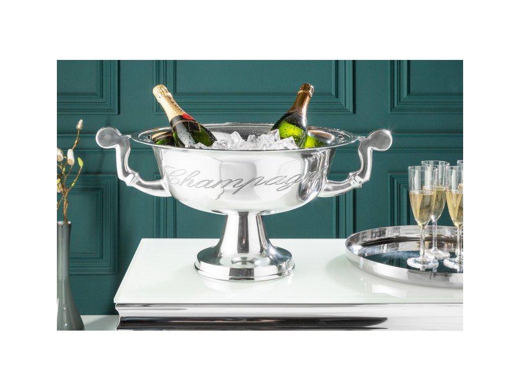 Chladič šampaňského Conor, 65cm stříbrný 01
