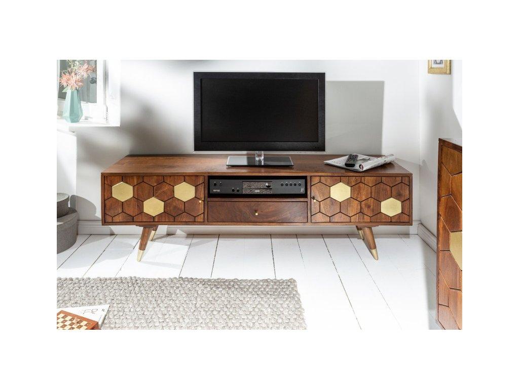 Masivní TV stolek Millie, 140cm 01