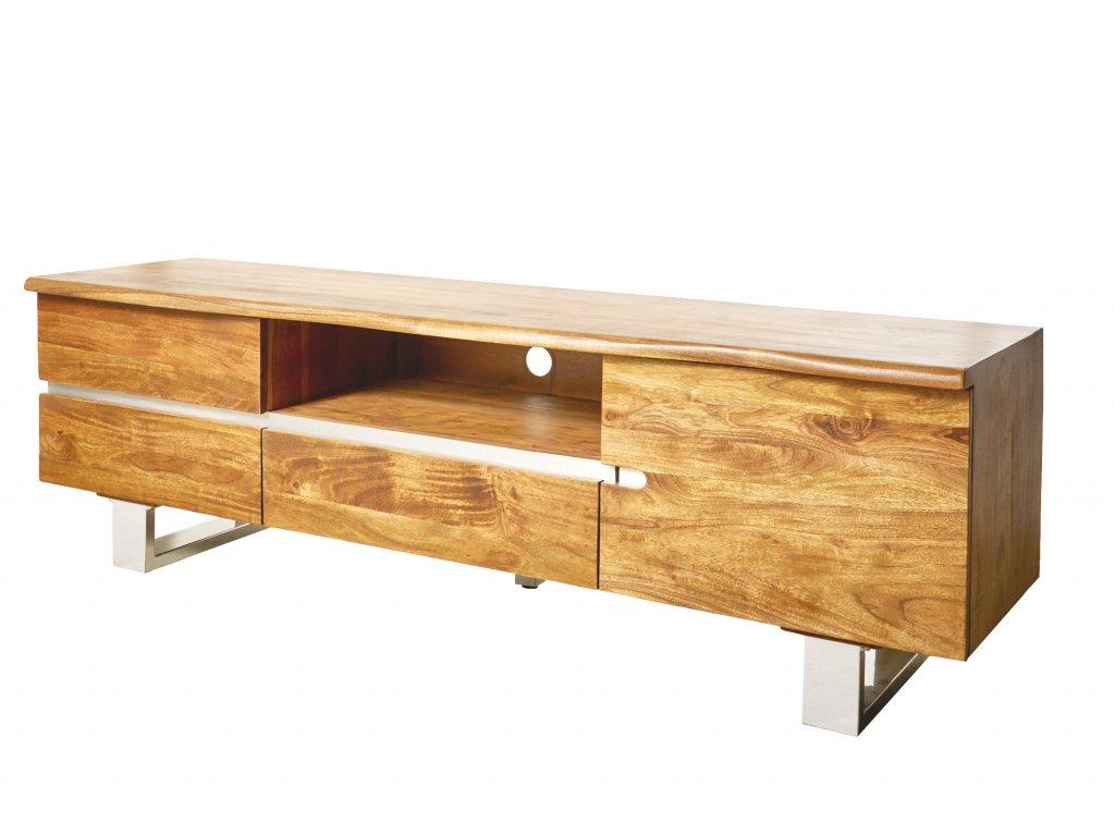 Luxusní TV stolek Dustin, akát 01