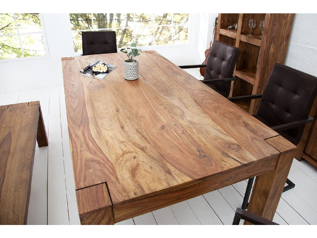 Masivní jídelní stůl Tom, 160cm