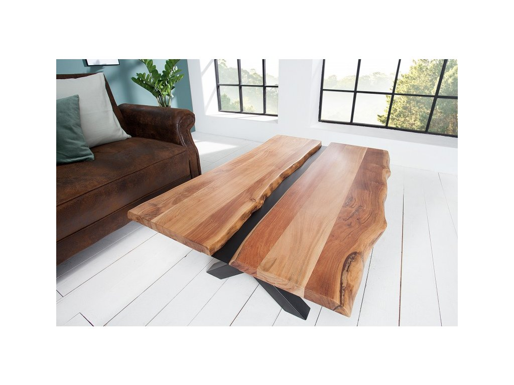 Masivní konferenční stolek Alex, 120cm 01