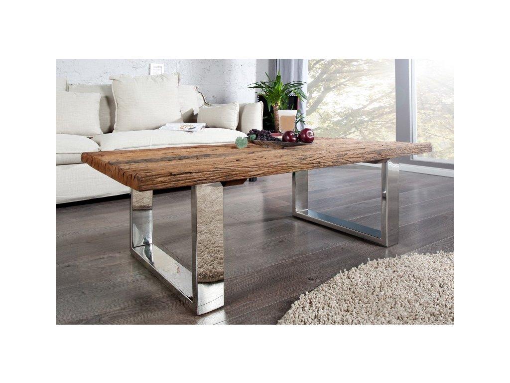 Masivní konferenční stolek Felix, 110cm 01