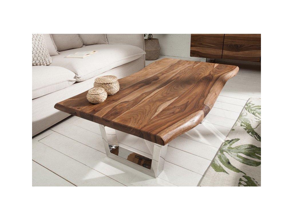 Designový konferenční stolek Irvin, světlý 01