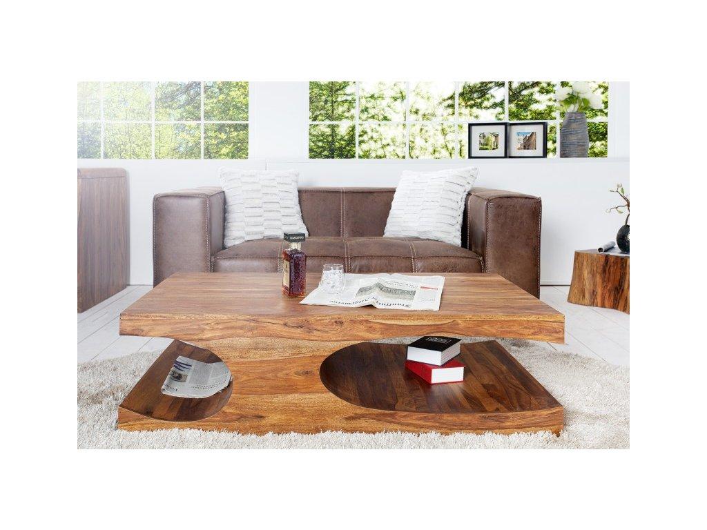 Masivní konferenční stolek Kenneth, 120cm 01