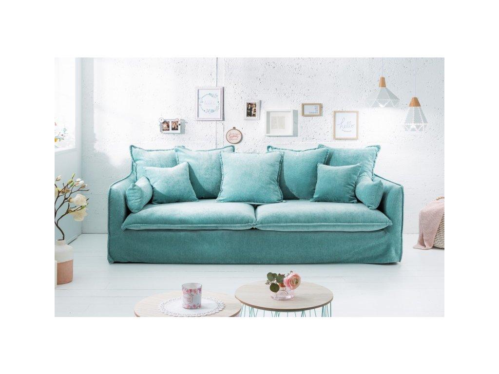Luxusní pohovka Annie, modrá 01
