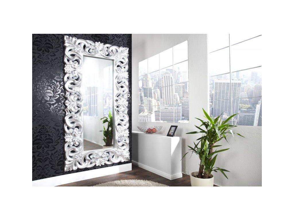 Zrcadlo Benátky Ryan, stříbrné 01