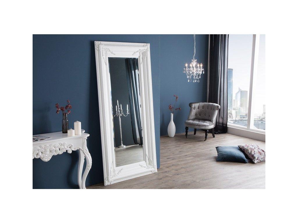 Renesanční zrcadlo Adam, bílé 01
