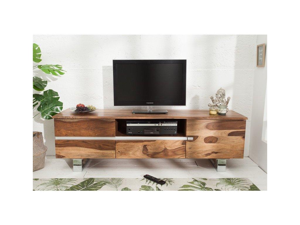 Masivní TV stolek Alvin, 160cm 01