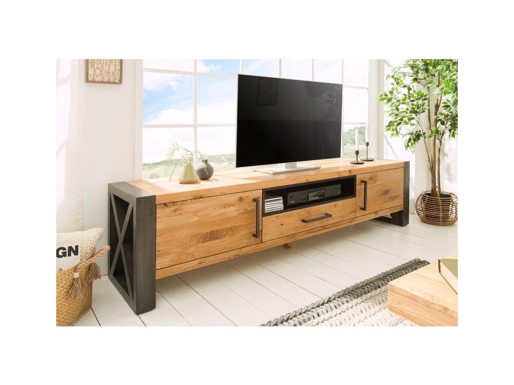 Masivní TV stolek Amit, 200cm 01