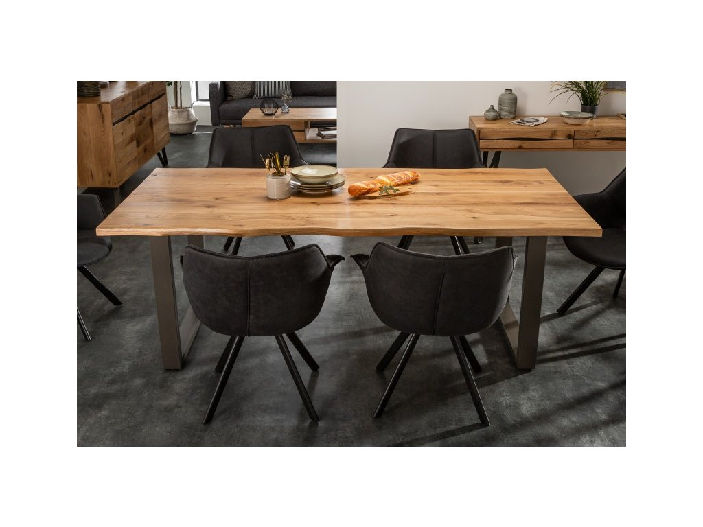 Masivní jídelní stůl Wayne, 200cm 01