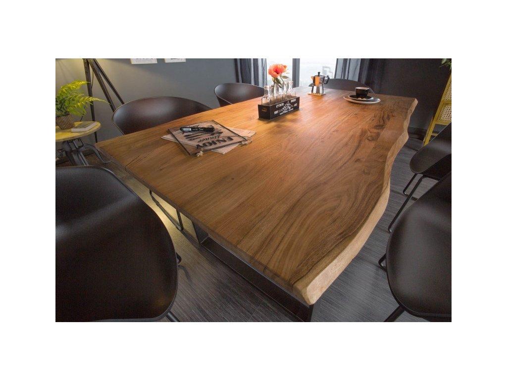 Masivní jídelní stůl Vernon, 140cm 01