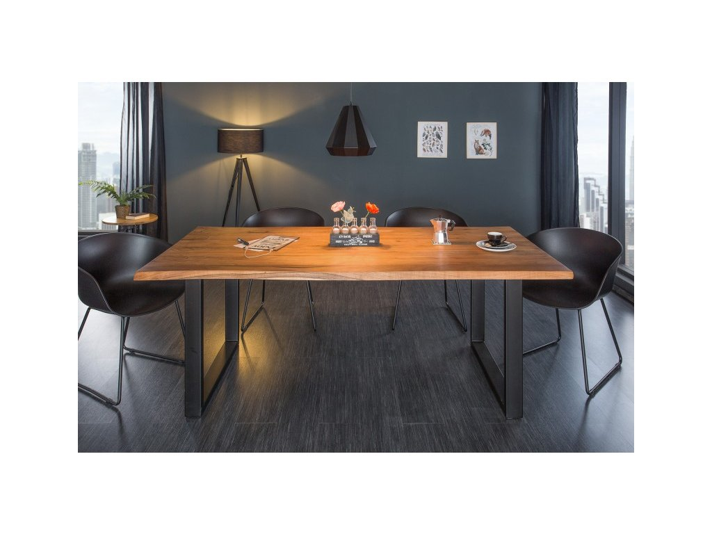 Masivní jídelní stůl Torquil, 200cm 01
