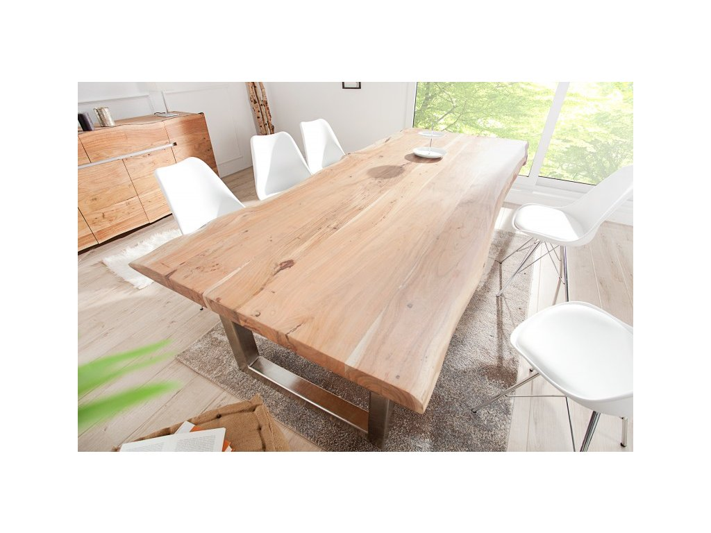 Masivní jídelní stůl Stewart, 300cm 01