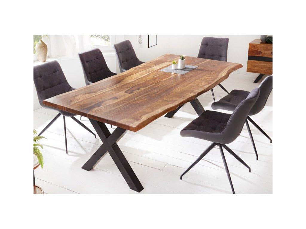 Masivní jídelní stůl Barney, 180cm 01