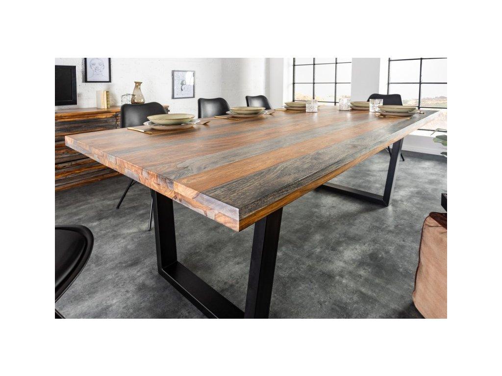 Masivní jídelní stůl Bartholomew, 160cm 01