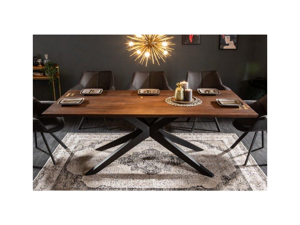 Masivní jídelní stůl Bertie, 200cm 01