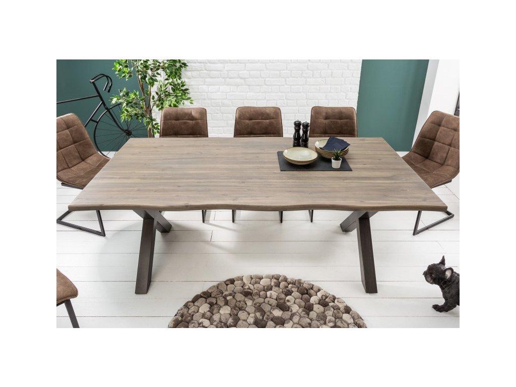 Masivní jídelní stůl Blair, 200cm 01