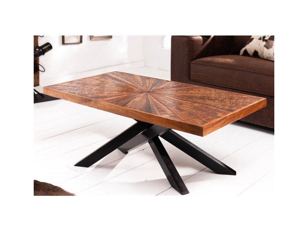 Luxusní konferenční stolek Boris, 105cm 01