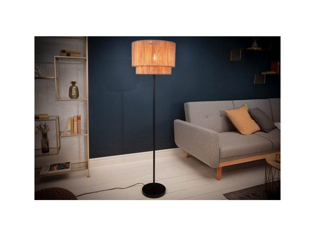 Designová stojací lampa Edwina, 150cm 01