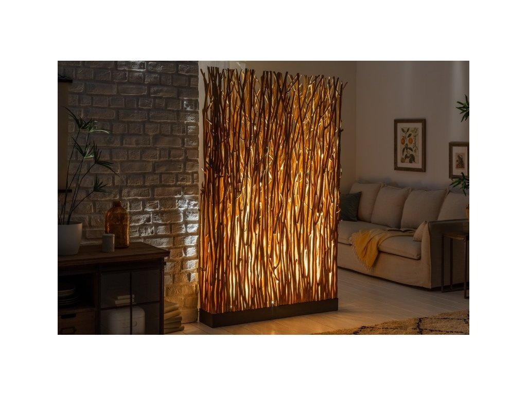 Masivní stojací lampa Edina, 180cm 01