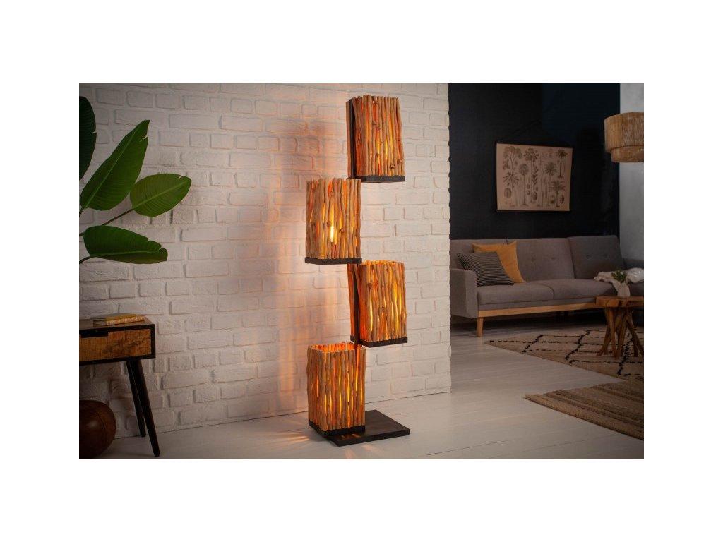 Designová stojací lampa Elena, 154cm 01