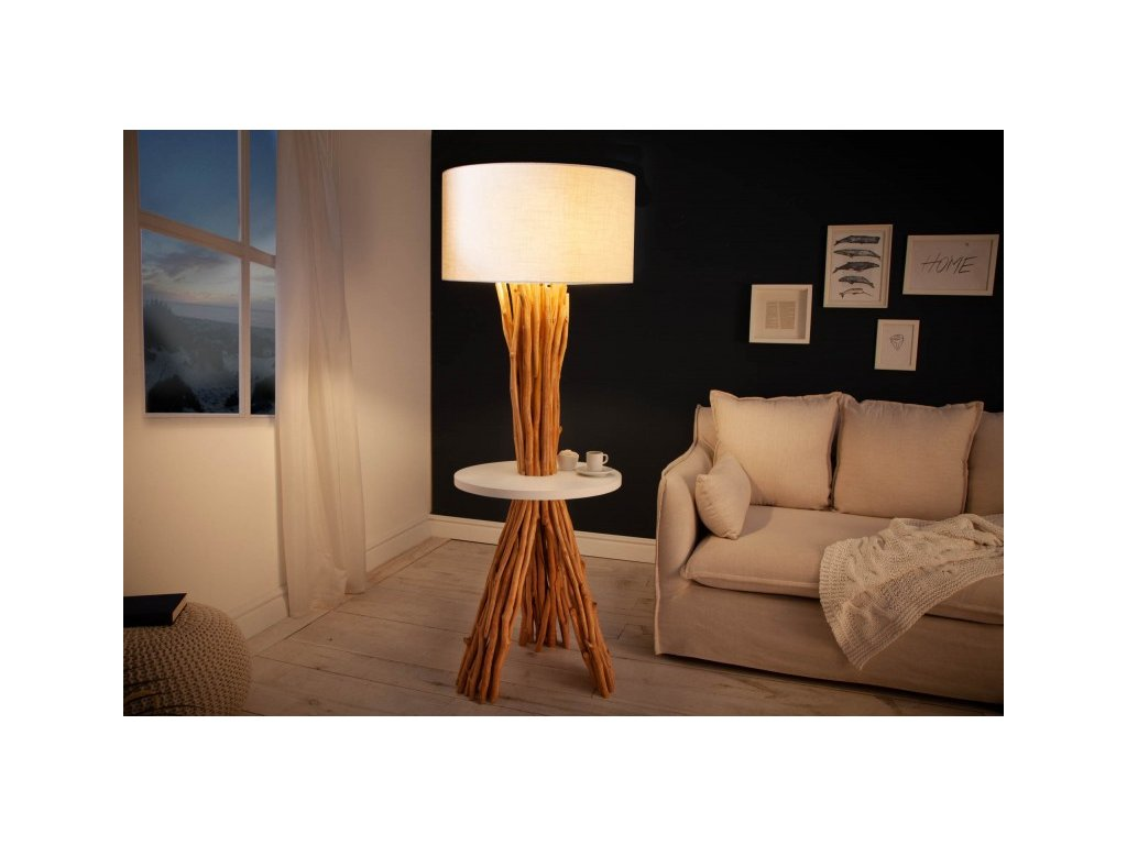 Luxusní stojací lampa Eloise, 153cm 01