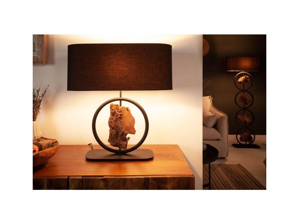 Designová stolní lampa Elspeth, 58cm 01
