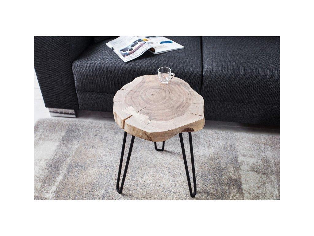 Designový konferenční stolek Brad, 40cm 01