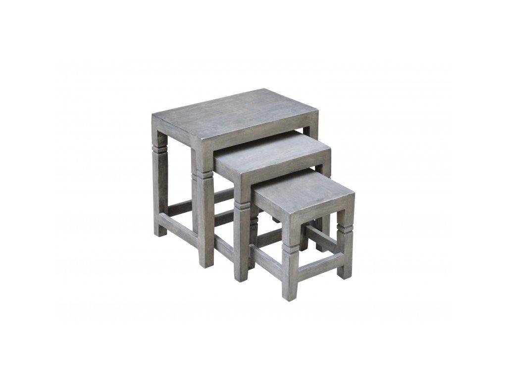 Designový konferenční stolek Bruce, šedý 01