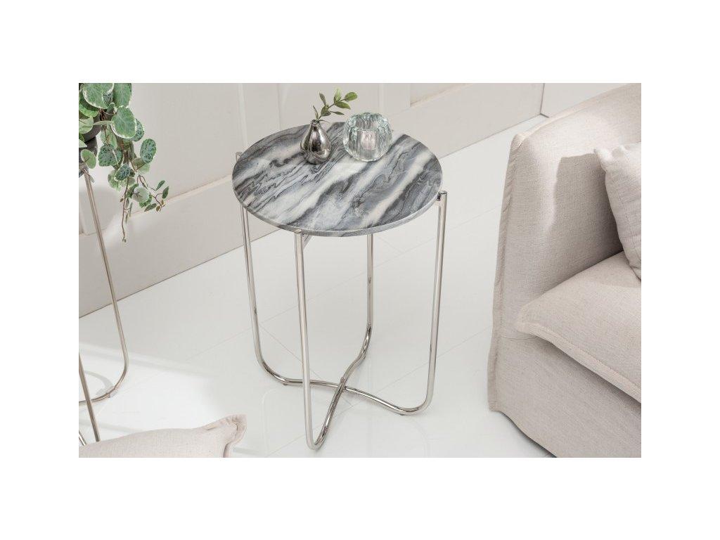 Luxusní konferenční stolek Ceris, mramorový 01