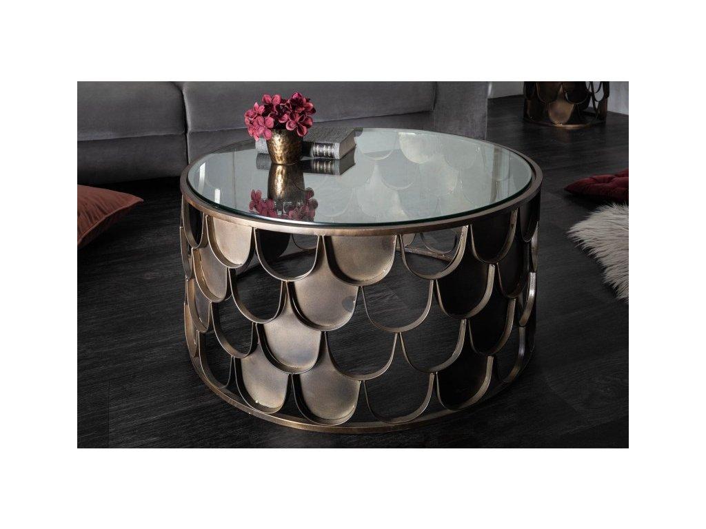 Designový konferenční stolek Cliff, 60cm 01