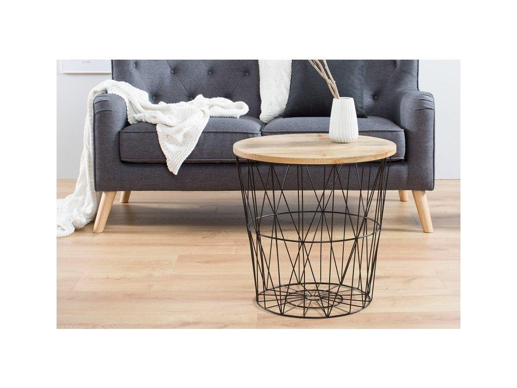 Designový konferenční stolek Donny, 52cm 01