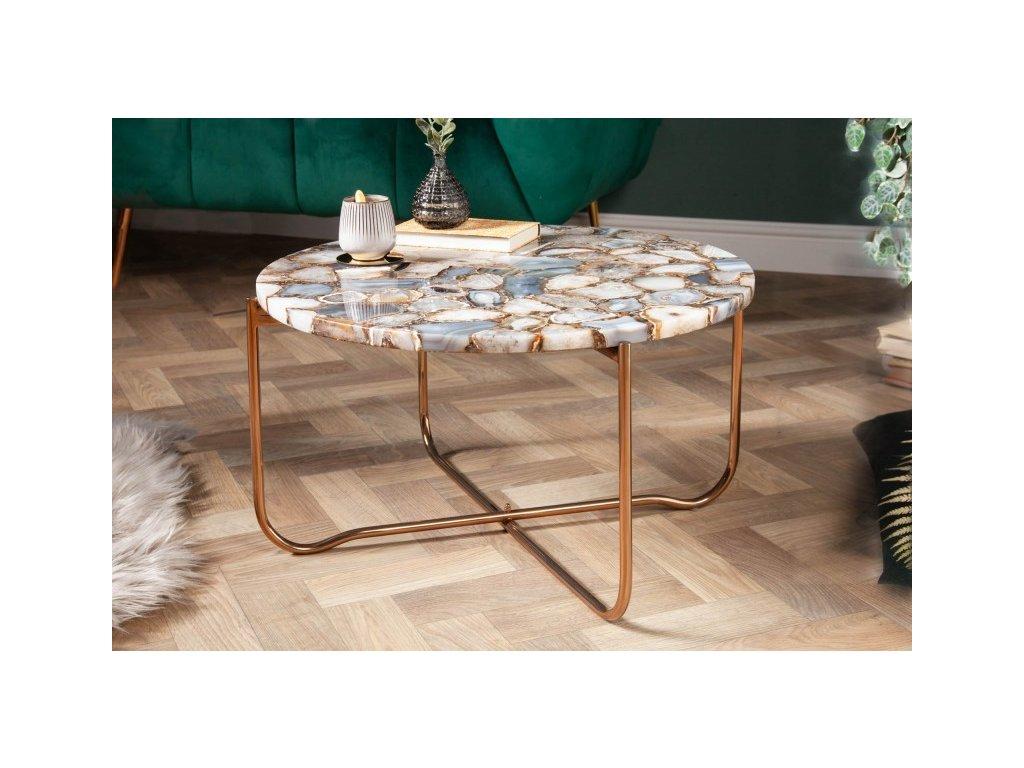 Luxusní konferenční stolek Evan, barevný 01