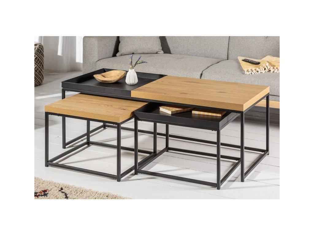 Designový konferenční stolek Frank, 120cm 01