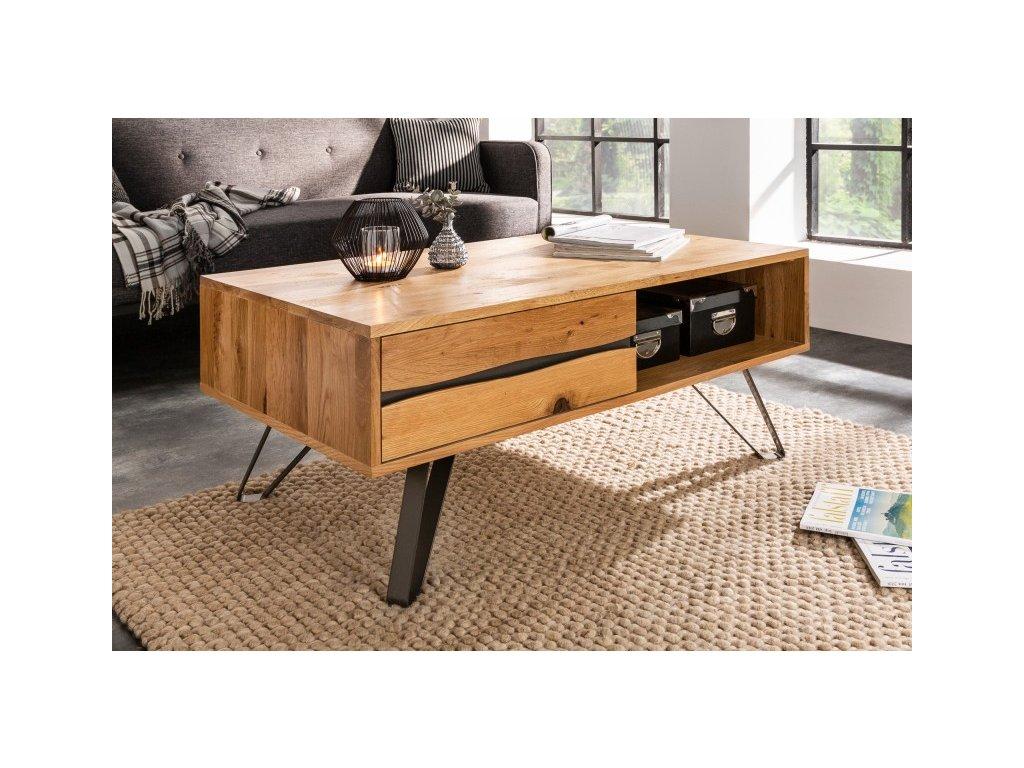 Luxusní konferenční stolek Abigail, 110cm 01