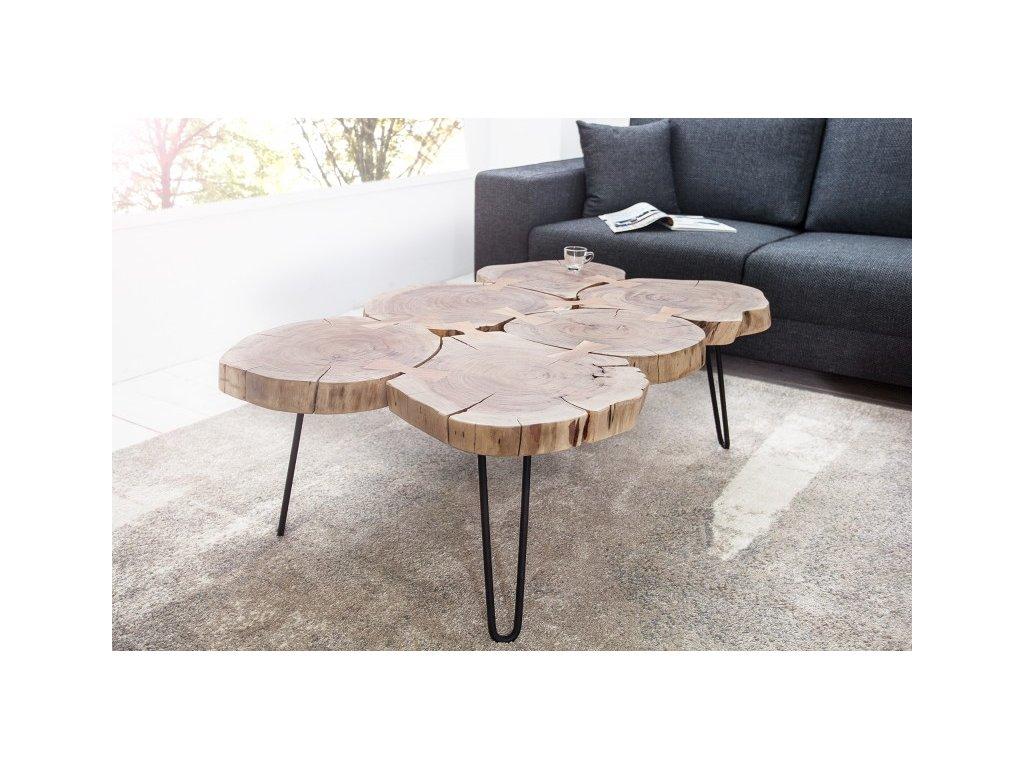 Luxusní konferenční stolek Gary, akát 01