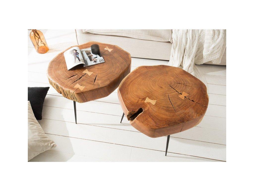 Luxusní konferenční stolek Gavin, akát 01